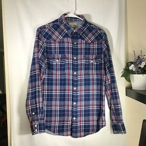 Lucky Brand Flannel Shirt Size Small